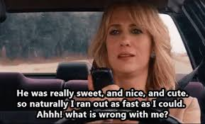 Kristen Wiig Memes - he was really sweet what s wrong with me kristen wiig in