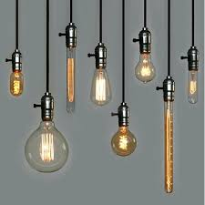 Bare Bulb Pendant Light Fixture New Edison Bulb Pendant Lights Thehappyhuntleys