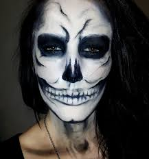 Halloween White Face Makeup by Best White Face Makeup Lady Gaga Skull Makeup Halloween Tutorial