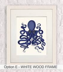 Octopus Home Decor Octopus Print No Nine Nautical Print By Fabfunky Home Decor
