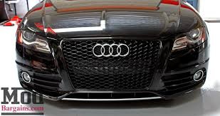 audi s4 rs b8 audi rs4 style grille install drop with h r springs for s4