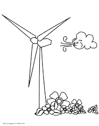 coloring pages energy coloring pages wind energy coloring pages