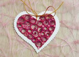Paper Decoration For Valentine Day by Valentine U0027s Day Craft Idea For Kids A Fun Paper Quilling Project