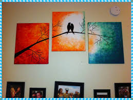 home design creative painting ideas for canvas foyer kids