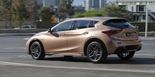 rose gold hummer 2017 infiniti q30 review caradvice