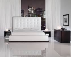 Black Leather Headboard Bedroom Set Bedroom Set With Leather Headboard 53 Trendy Interior Or Black