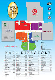 Florida Mall Floor Plan Stores Directory Pembroke Mall