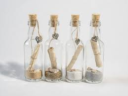 wedding invitations in a bottle small message in a bottle style wedding invitation fairytale