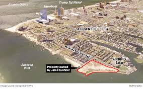 Atlantic City Map Not Trump This Time But Son In Law Jared Kushner Who Is Stymieing