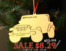 christmas ornaments sale jeep wrangler jk christmas ornaments sale