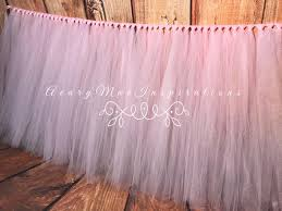 Pink Table Skirt by Best 25 Tulle Table Ideas On Pinterest Tulle Table Skirt Table