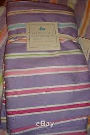 Pottery Barn Kids Shower Curtains Barn Kids Park Stripe Purple Shower Curtain 2 Bath Mats U0026 One Valance