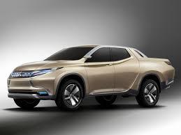mitsubishi truck mitsubishi gr hev hybrid pickup concept debuts at geneva digital