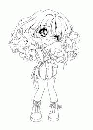 cute anime face girls coloring pages coloring