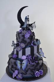 Halloween Fairy Cakes Decoration by Best 20 Halloween Wedding Cakes Ideas On Pinterest Gothic