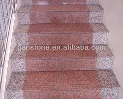 Granite Stairs Design Natural Stone Anti Slip Stairs Outdoor Stone Step Risers Granite