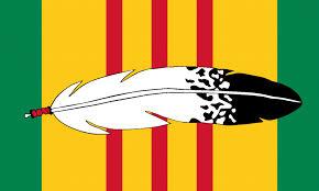 Viet Nam Flag American Indian Tribal Flags American Indian Vietnam Veteran Flag