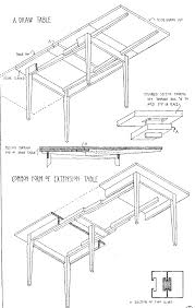 table leaf extension slides draw leaf table diagrams future project ideas pinterest leaf
