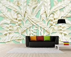 online buy wholesale banana tree wallpaper from china banana tree beibehang large custom wallpaper 3 d banana trees relief woodcarving murals decoration wallpaper for walls papel