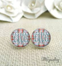 Monogrammed Earrings The 69 Best Images About Earrings On Pinterest