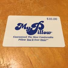 sale my gift card find more my pillow gift card value 10 sbd free with any new 10