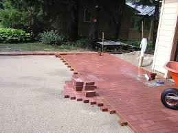 decoration best laying pavers ideas with patio oavers and sands