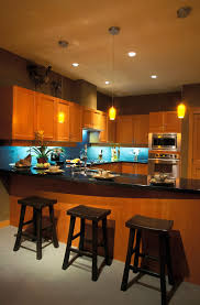 blue kitchen tile backsplash 52 dark kitchens with dark wood and black kitchen cabinets