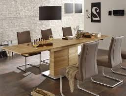 Esszimmertisch Ausziebar Hochwertiger Säulentisch Esstisch Ausziehbar Bootsform Säule E