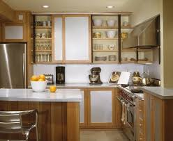 Kitchen Cabinet With Sliding Doors Small Kitchen Sliding Cabinet Doors Save Space Kitchn