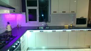 Kitchen Unit Lighting Undermount Lighting Kitchen Cabinets Refrigerator Design Painted