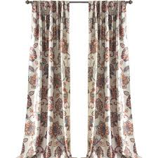 Brown Floral Curtains Floral Curtains U0026 Drapes Joss U0026 Main