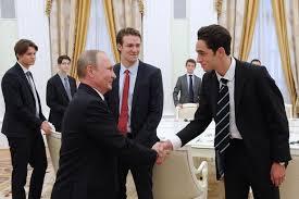 picture height vladimir putin meets eton school pupils in kremlin who make a sneaky