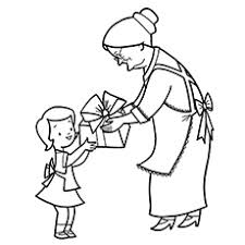 10 free printable grandma coloring pages