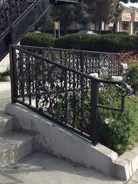 ornamental aluminum railing archives fence factory