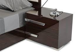 Italian Modern Bedroom Furniture Nova Domus Romano Italian Modern Ebony Bedroom Set