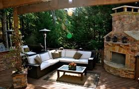 garappa hardwood decking cedar pergola fireplace and outdoor