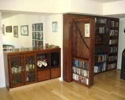 bookcase diy hidden door bookshelf build secret door bookcase