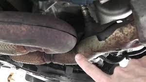 nissan murano catalytic converter nissan quest exhaust rattle noise fix youtube