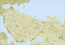 Map Of Vancouver Washington by Map Of Vancouver My Blog