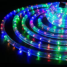 wyzworks 10 multi rgb led rope lights