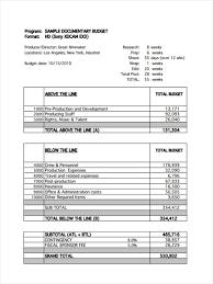 budget free templates film budget form film budget form