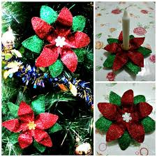 diy 19 poinsettia 2 in 1 made of plastic bottle