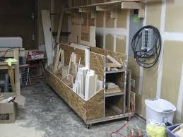 Mobile Lumber Storage Rack Plans by Mobile Wood Rack By Boaz Lumberjocks Com Woodworking Community