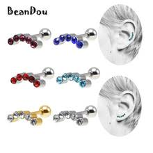helix cartilage earrings popular titanium cartilage earrings buy cheap titanium cartilage