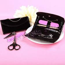 manicure set favors manicure set or pedicure set gift zh009 nail care set wedding