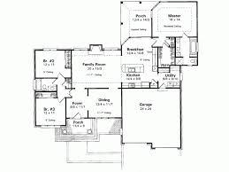 single storey bungalow floor plan home architecture single storey bungalow house plans interiors one