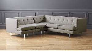 Gray Sofa Bed Modern Sectional Sofas Cb2