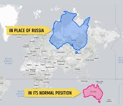 World Map Actual Size by After You U0027ve Seen These Maps Your Image Of The World Will Never