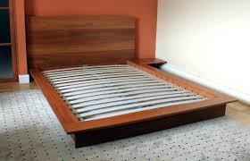 Platform Style Bed Frame Decoration Asian Style Bed Frame