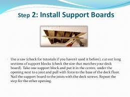 how to rescue a damaged deck board u2013 diy deck repair solution